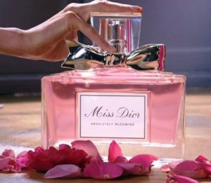 Реклама парфюма