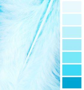 Палитра голубого цвета