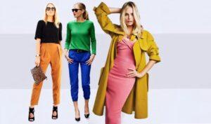 Психология цвета в одежде женщины